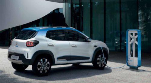 Renault Kwid ZE électrique