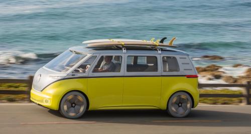 VW buzz id electrique
