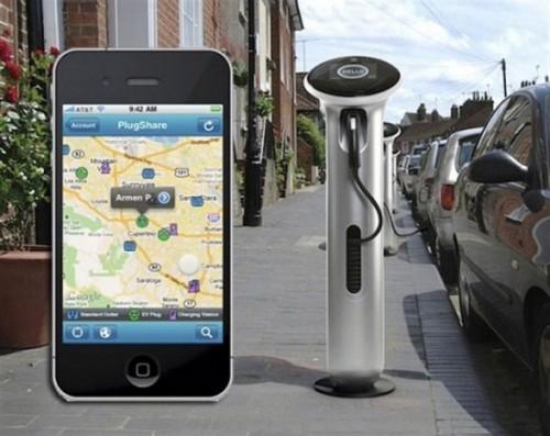 google r pertorient les bornes de recharge voiture electrique. Black Bedroom Furniture Sets. Home Design Ideas