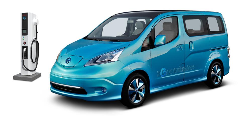 nissan e nv200 l 39 utilitaire fabriqu en espagne voiture electrique. Black Bedroom Furniture Sets. Home Design Ideas